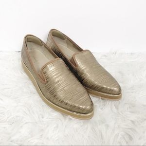 Donald J. Pliner Betina Platform Point Toe Loafers